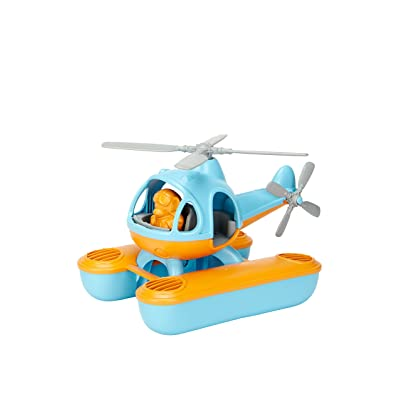 Green Toys Seacopter, Blue/Orange: Toys & Games