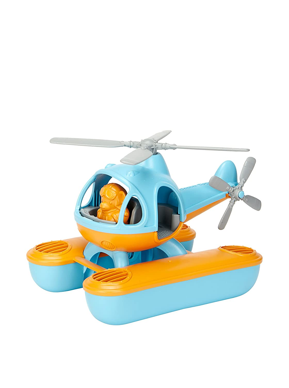Green Toys Seacopter, Blue/Orange SECB-1063