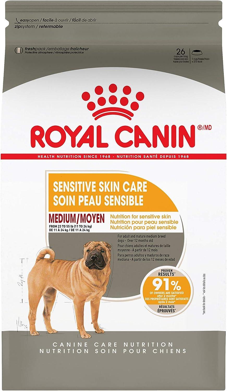 Royal Canin Medium Sensitive Skin Care Dry Dog Food, 6 lb. bag