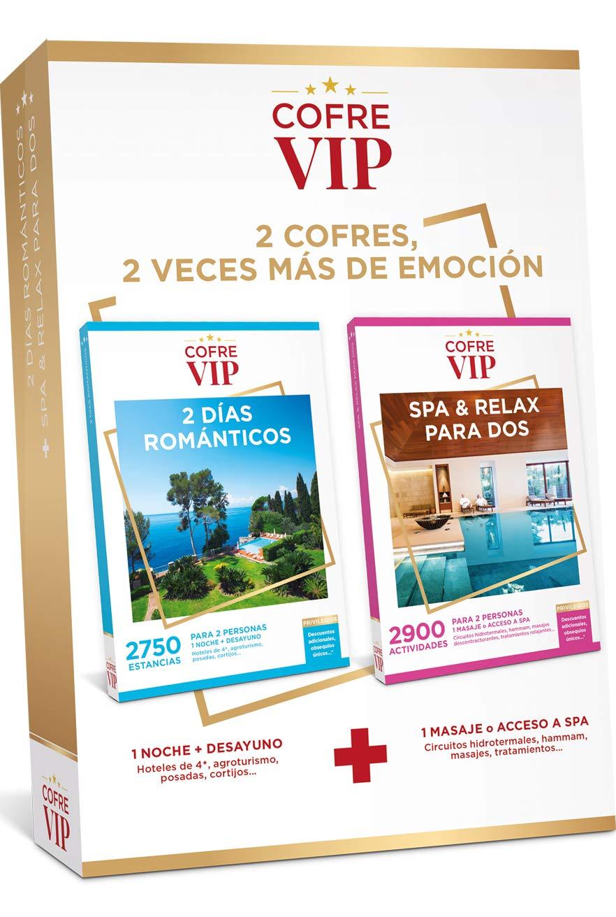 CofreVIP Caja Regalo 2 DÍAS ROMÁNTICOS + SPA & Relax para Dos para ...