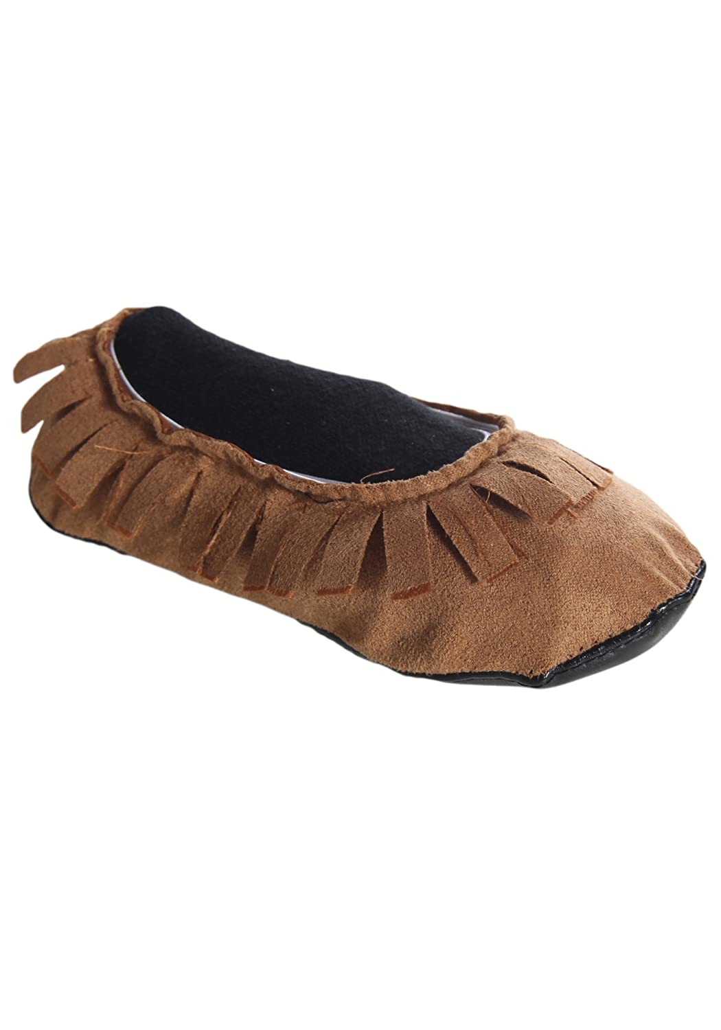 FunCostumes Kids Realistic Native American Moccasins Shoes