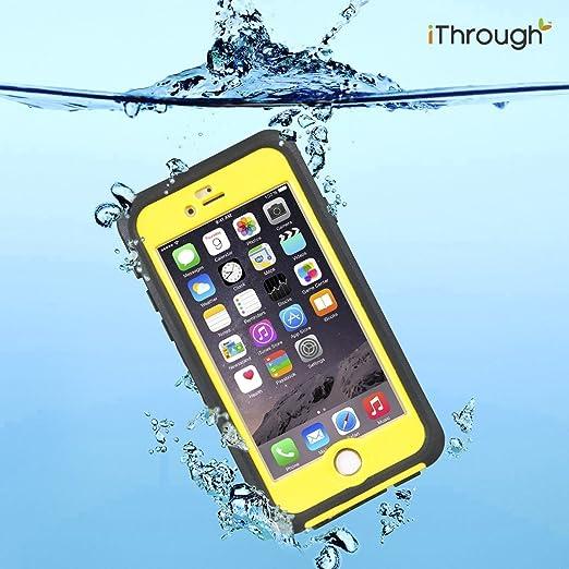 4 opinioni per iPhone 6S Plus Custodia Waterproof, iThrough™ iPhone 6 Plus Custodia