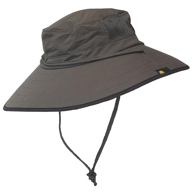 Sun Protection Zone - Sombrero unisex ligero ajustable al aire última  intervensión (100 SPF 4391b1f3e12