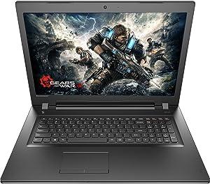 Lenovo Premium Built High Performance 15.6 inch HD Laptop (AMD FX7500 Processor, 8GB RAM 1T HDD, DVD RW, Bluetooth, Webcam, WiFi, HDMI, Windows 10 ) - Black