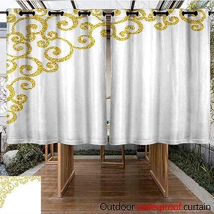 Amazon.com: Onefzc - Panel de cortinas con ojales para ...
