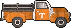 "FC NCAA Tennessee Volunteers 15"" Truck Cutout Wood Sign"