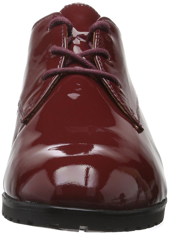 350083b11d9654 Caprice 23351, Derby Femme, Rouge (Bordeaux Pat 536), 36 EU: Amazon.fr:  Chaussures et Sacs