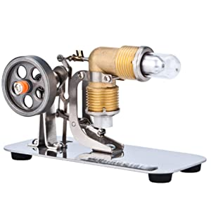 DjuiinoStar Mini Hot Air Stirling Engine: A High Performance Pocket-Sized Working Model