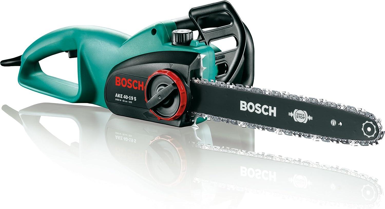Bosch AKE 40-19 S Motosierra eléctrica, 1900 W, velocidad de la cadena de 12 m/s