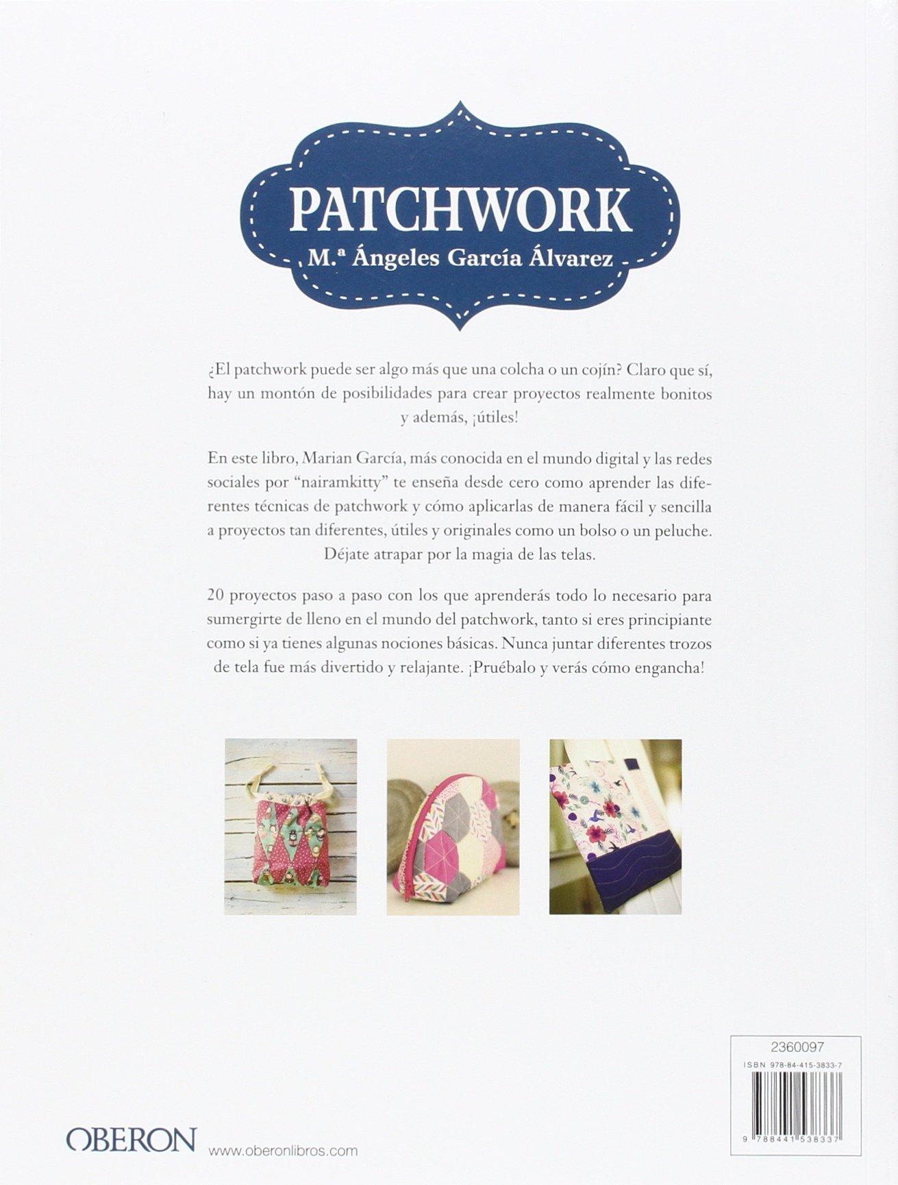Patchwork: Mª Ángeles García Alvar: 9788441538337: Amazon ...