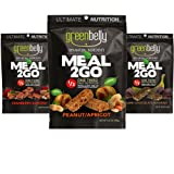 Backpacking Food Best Backpacking Meals - Ready-to-Eat, Non-Cook, High Nutrition, Lightweight, Full Hiking Meal for the Trail, All Natural, Gluten Free, Fluffy Meal Bars, Greenbelly (9 Variety)