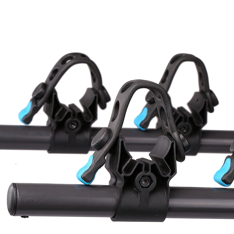Amazoncom Galaxy Auto Swing Away Hitch Mount Bike Rack For