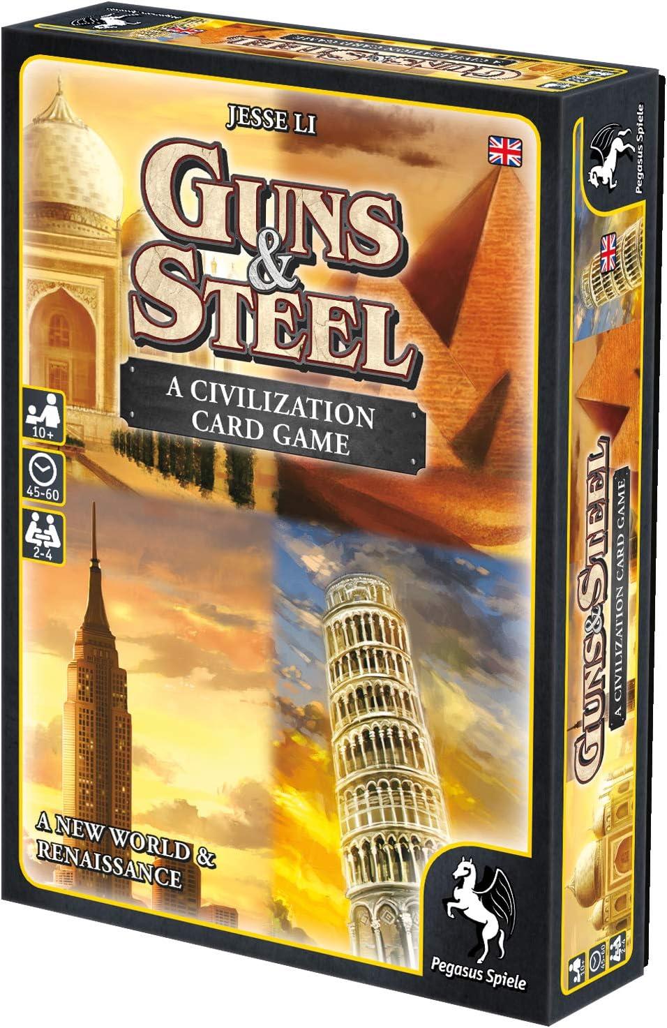 Pegasus Juegos 18286e – de Tablero Guns y Steel – A Story of ...