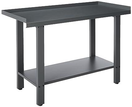 Magnificent Homak 59 Inch Industrial Steel Workbench Gray Gw00550150 Forskolin Free Trial Chair Design Images Forskolin Free Trialorg