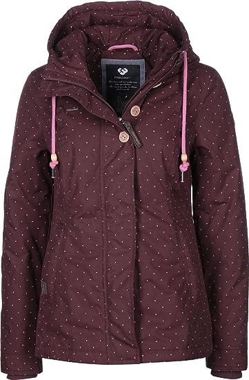 Ragwear Lynx Dots W Winterjacke: : Bekleidung