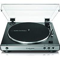 Audio-Technica AT-LP60XUSB Volautomatische USB-Draaitafel Met Riemaandrijving, Zwart/Zilver