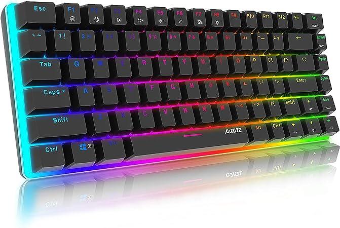 Mechanische Tastatur Gaming Rgb Beleuchtung Blau Computer Zubehör