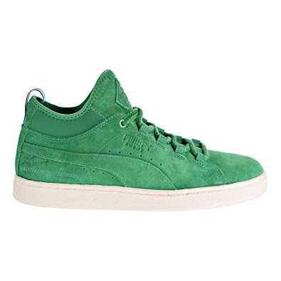 buy online c2998 69654 Amazon.com | PUMA Suede Mid Big Sean Mens Green Suede Lace ...
