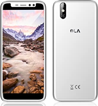 ILA ILA - 4G Smartphone Lbre 5,5LCD IPS (Android 7.0, 3G ROM + 32G RAM, 4 Núcleos, 1.3GHz, Cámara 13MP Trasera + 5MP Frontal, Batería 2500mAh, Lector de Huellas) (Plata): Amazon.es: Electrónica
