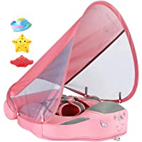 Newest Add Tail Never Flip Over UPF 50+ Size Improved Mambobaby Non-Inflatable Float Swim Trainer Relaxing Baby Float…