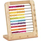 B. toys – Two-ty Fruity! Wooden Abacus Toy – Classic Wooden Educational Counting Toy With 100 Beads – Natural Wood and…