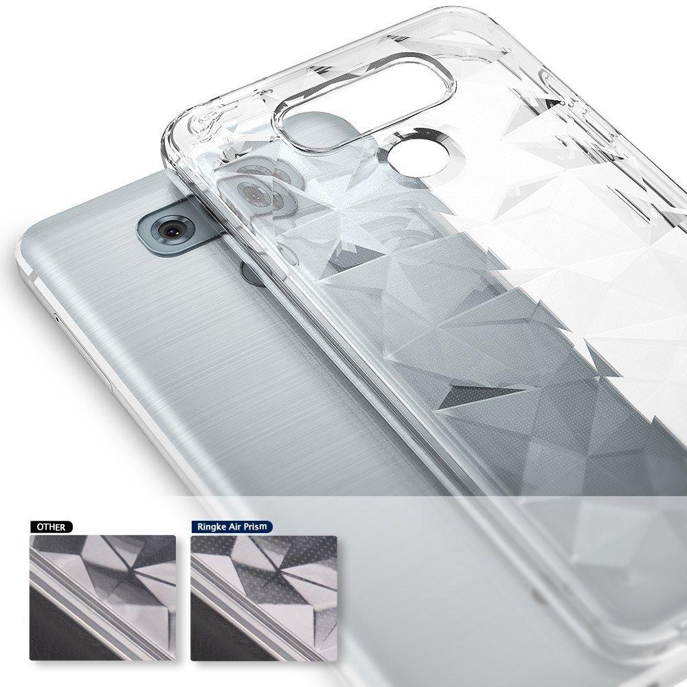 Ringke Funda LG G6 / G6 Plus [Air Prism] Carcasa Resistente de TPU con Diseño 3D Texturizado de Genial Elegante con Patrón de Diamante Flexible como Una ...