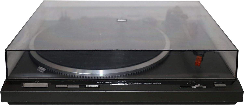 Technics SL de Q 21 Tocadiscos en negro: Amazon.es: Electrónica