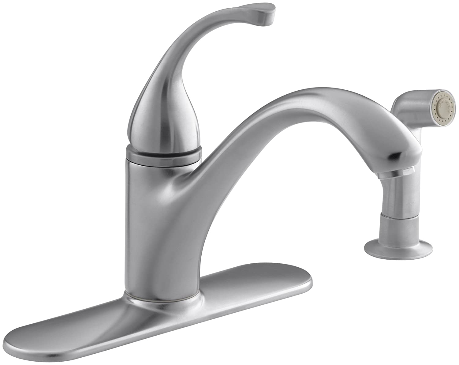 beauteous moen shop single faucet resist renzo pleasing chateau faucets design home spot kitchen