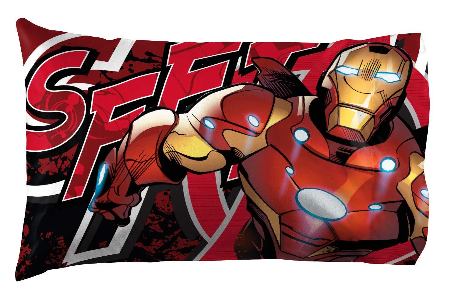 Jay Franco Marvel Avengers Publish 3 Piece Twin Sheet Set, by Jay Franco (Image #6)