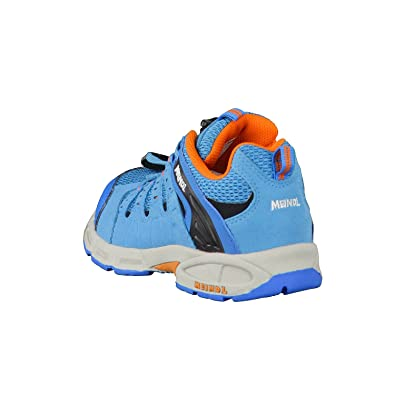 Amazon.com | Meindl unisex Respond Junior orange/light blue | Hiking Shoes