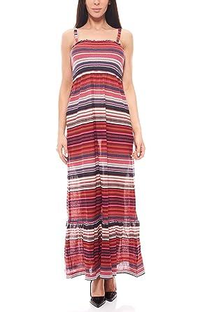 RICK CARDONA Kleid Maxikleid Strickkleid Sommerkleid Bunt by Heine   Amazon.de  Bekleidung 358dd66d60