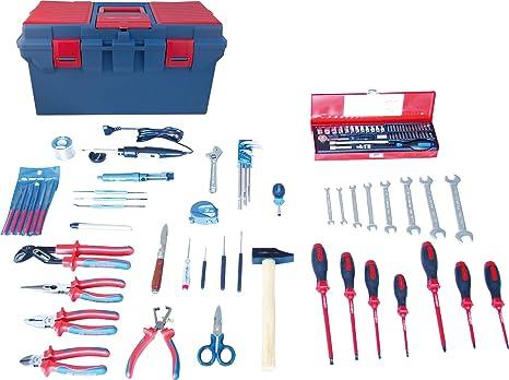king tony 41597elec Electricista y Electro mecánico Caja de Herramientas, Conjunto de 97: Amazon.es: Coche y moto