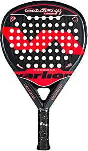 Varlion Cañon Hexagon Carbon Ti roja, pala de pádel, forma de ...