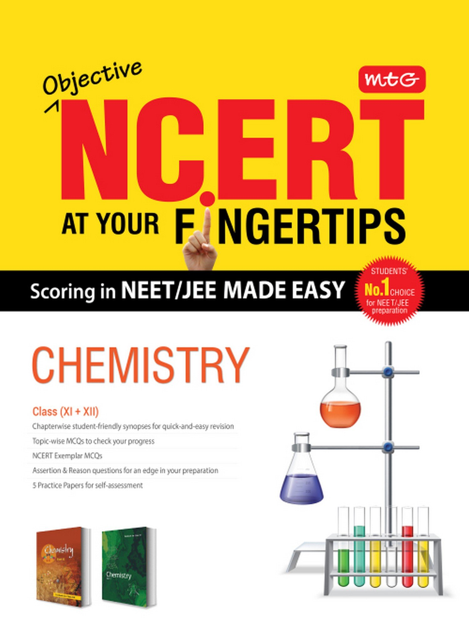 Buy Objective NCERT at Your Fingertips for NEET-JEE MADE EASY - Chemistry  Book Online at Low Prices in India | Objective NCERT at Your Fingertips for  ...