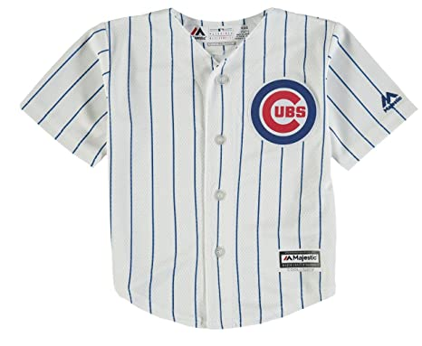502b8ca67da Image Unavailable. Image not available for. Color  Chicago Cubs Home Infant  Cool Base Replica Jersey ...