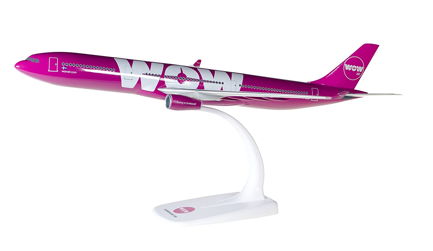 WOW air-NUOVO Herpa 530743-1//500 Airbus a330-300