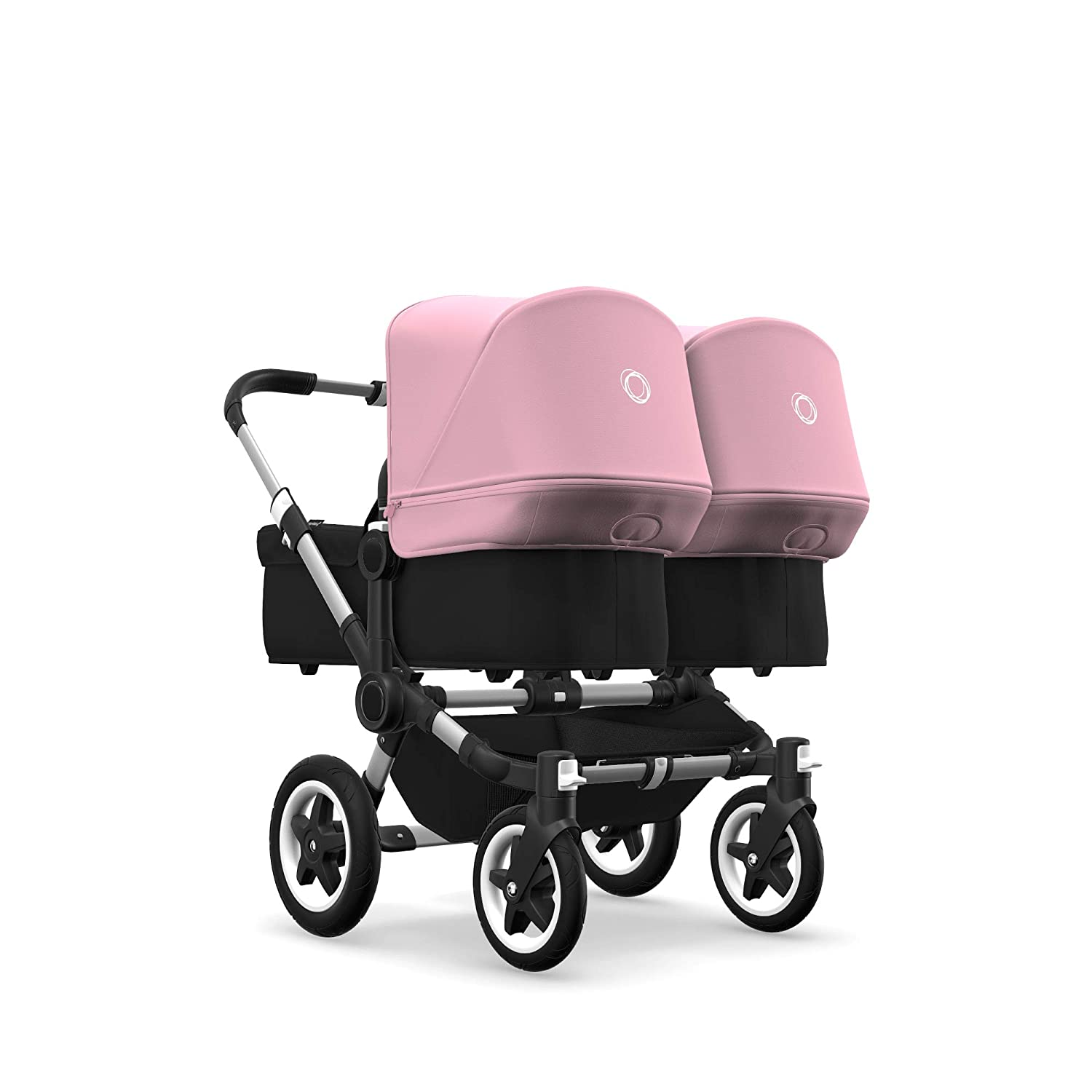 Bugaboo Donkey2 Sun Canopy Soft Pink Extendable Sun Shade for Full Weather Protection Machine Washable