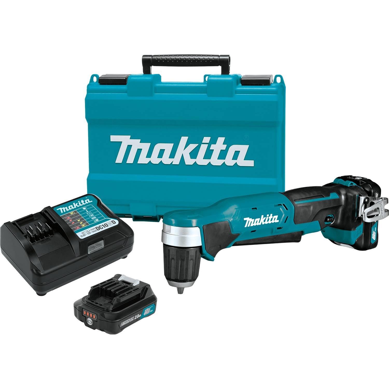 Makita AD04R1 12V max CXT Right Angle Drill Kit, 3/8'' by Makita