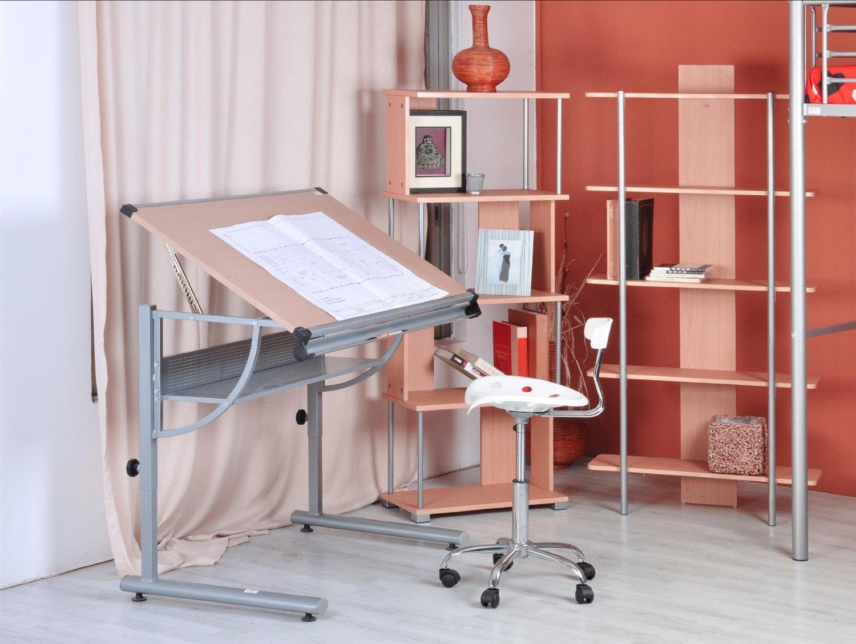 GreenForest Dibujo Ajustable de Estudio y Trabajo escritorio de la ...