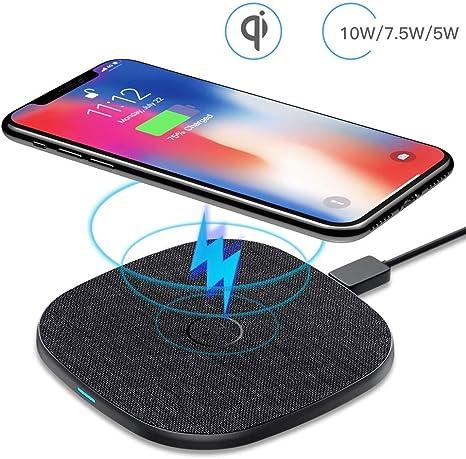 commander en ligne couleur rapide style distinctif 10W Chargeur Sans Fil Rapide Qi Universel-AGPTEK Chargeur à Induction Qi  Charger Pad pour iPhone XS/XR/X/8/8 Plus, Samsung Galaxy S9/S8/S8  Plus/S7/S6 ...
