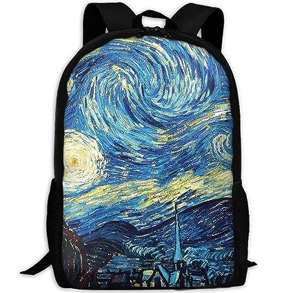 Viaje Van Gogh Y Vincent Mujer Starry Hombre Night Bolso De Para tqY6wR