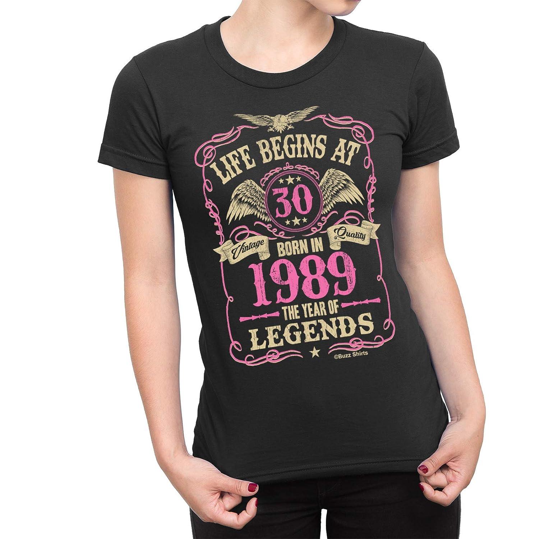 Cumpleaños de Las señoras de Las Camisas del zumbido T-Shirt ...