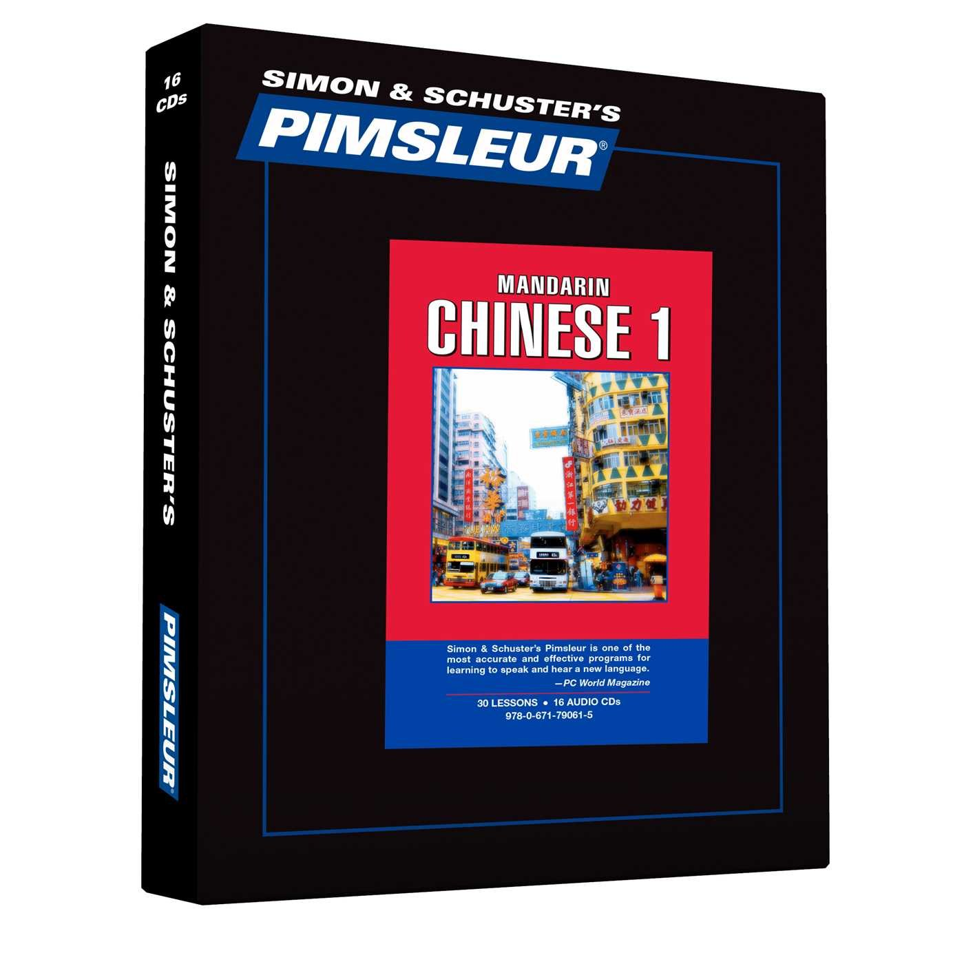 Chinese (Mandarin) I by Simon & Schuster Audio