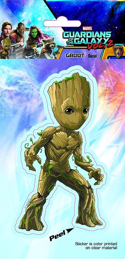 Guardians of the Galaxy ST MGOG2 GR01/_4b8 Groot Walking 4x8 Car Decal Sticker
