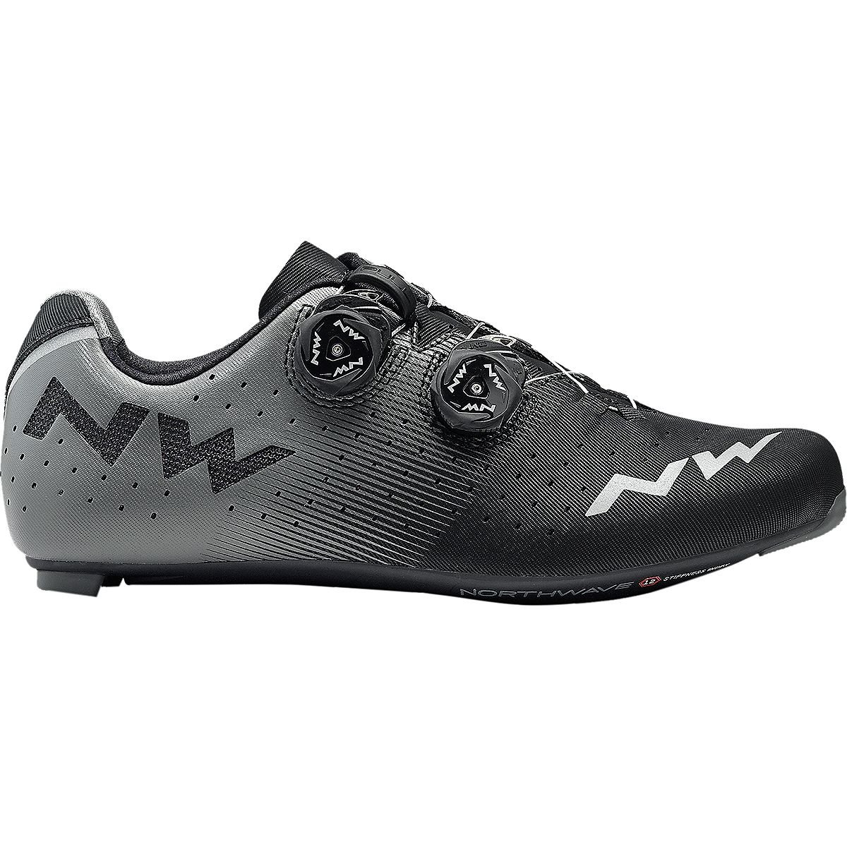 ノースウェーブRevolution Cycling Shoe – Men 's Black / Anthracite、40.0   B07BLTTJMW
