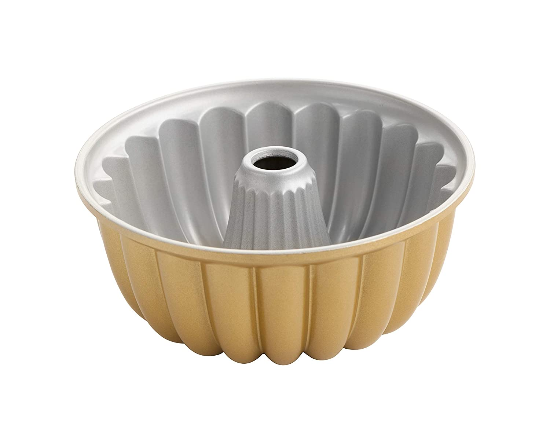 Nordicware Nordic ware-étagère tartas antiadhésive-elegant Party, Gold
