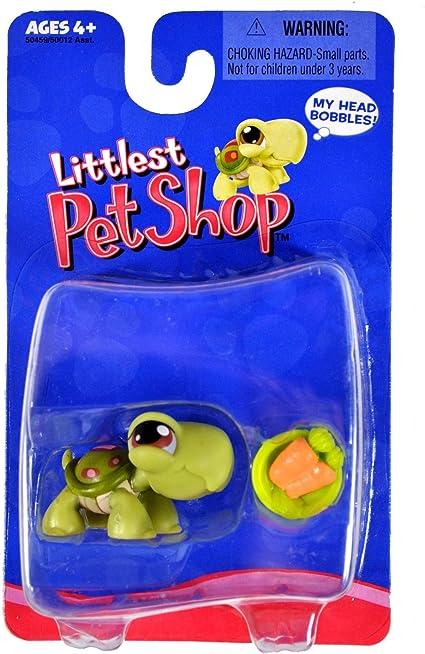 Amazon Com Littlest Pet Shop Turtle With Carrots Toys Games