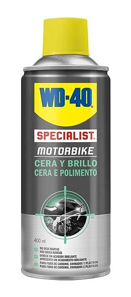 WD-40 34553 Total de Moto en Ambiente Húmedo Specialist Motorbike Spray, 400mL, Caja de 3: Amazon.es: Industria, empresas y ciencia