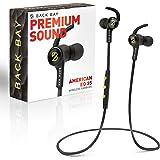 Back Bay American EQ-35 Bluetooth Earphones. Sweatproof Wireless Earbuds [2020 Update] with APTX Hi-Fi Stereo Sound, 8…