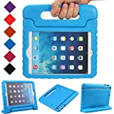 luka Multi Function Child/Shock Proof Kids Cover Case with Stand/Handle for Apple iPad Mini Tablet (Ipad Mini, Blue)